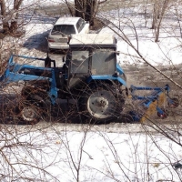 Омские дорожники собрали в городе 650 кубометров снега за сутки