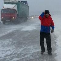 Часть трассы из Казахстана в Омск закрыта для движения