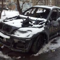 Житель Омской области по глупости сжег BMW и сел на 2,5 года