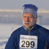 Для участия в омском зимнем марафоне итальянский бегун отрастит бороду