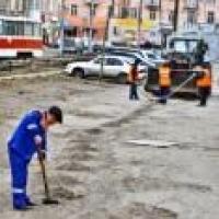 В мэрии сообщили об «идеальной чистоте» вдоль трамвайных путей на проспекте Маркса