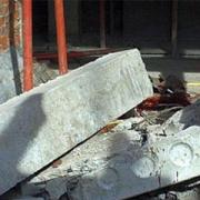 На омском нефтезаводе обрушилась бетонная плита