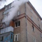 Омские пожарные вытащили шестерых человек из загоревшихся квартир