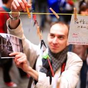 Омские фотографы оставят свои работы на бельевой веревке