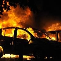 В Омской области за сутки сгорели две машины