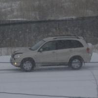 Госавтоинспекция предупредила омских автомобилистов о снегопаде в несколько дней