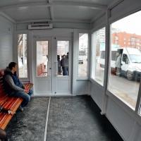 Первая «теплая остановка» появится на Левом берегу Омска