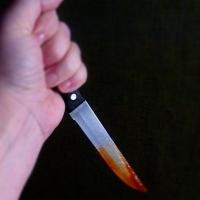 В Омском районе женщина ударила ножом сожителя