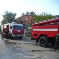 В гараже «Омсктрансстрой» сгорела машина