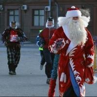 Участники омского Рождественского полумарафона рассмотрят город