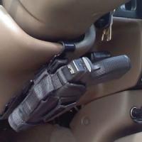 Омский водитель остался без оружия