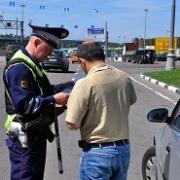 В Нововаршавском районе пьяный водитель пытался скрыться от полиции