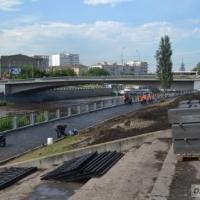 В Омске реконструируют оба берега набережной Оми