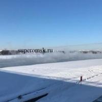 Названа причина отсутствия льда на Иртыше у Ленинградского моста