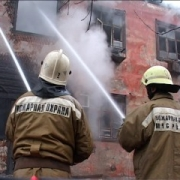 В Омске произошел пожар в школе-интернате