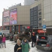 В Омске эвакуировали два торговых центра