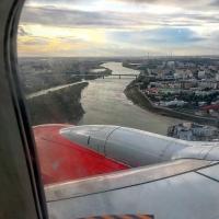 Фото «Иртыш из окна самолета» вызвало дискуссию об отъезде из Омска