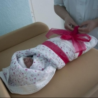 В 2018 году первой в Омске родилась девочка