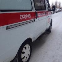 Под Омском автобус с пассажирами съехал в кювет