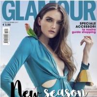 Омская модель стала лицом обложки итальянского Glamour