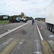 На трассе Омск-Тюмень столкнулись три машины