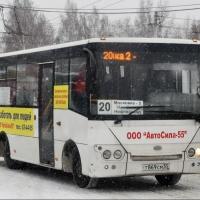 На автобусах «Автосилы-55» юные омичи смогут кататься за 15 рублей при наличной оплате