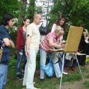Сорок художников рисуют Тару
