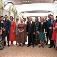 Учителю из Омской области вручили спецприз в Кремле