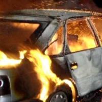 За сутки в Омске горели три автомобиля