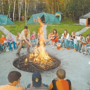 Палаточные лагеря слетятся в Калачинск