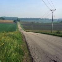 В Омской области открыли сельскую дорогу за 30 миллионов