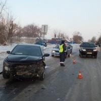 В Омске машина ДПС вылетела на встречную полосу: среди пострадавших ребенок
