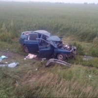 Под Омском в ДТП погибла беременная женщина (фото и видео)