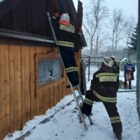 В Большереченском зоопарке произошел пожар