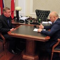 Виктор Назаров пообщался с новыми главами районов