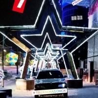 В Омске появилось новая фотозона для машин