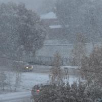 На выходных в Омске ожидается снег и метель