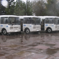 Новые автобусы будут следовать по удаленным и труднодоступным маршрутам Омской области