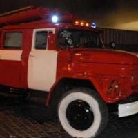 В Омской области ночью горел салон ритуальных услуг