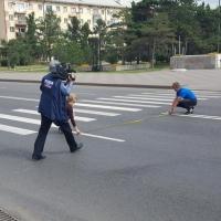 Журналисты «России 24» назвали Иртышскую набережную лучшей из омских дорог