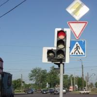 Работа светофора на перекрестке улиц Герцена и Фрунзе будет изменена