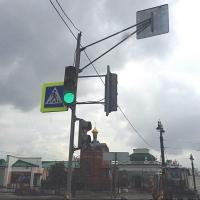 Пешеходные переходы на Любинском проспекте Омска приподнимут над проезжей частью