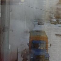 С приходом морозов в Омске начали лопаться трубы