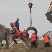 """""""Мостовик"""" завершает строительство коллектора в Чкаловском поселке"""