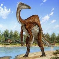 Ученые получили изображение горбатого динозавра