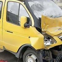 Трое пассажиров ГАЗели доставлены в больницу после ДТП