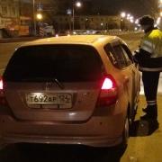 В праздничную ночь на дороги Омска выехало семь пьяных водителей
