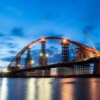 В Новосибирске откроется самый большой арочный мост в СНГ
