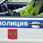 Полицейский водитель врезался в «Приору»