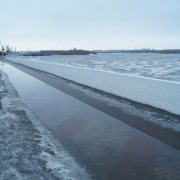 Омские улицы могут оказаться под водой